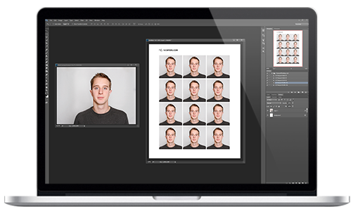 Photoshop Visa & Passport Photo Templates - PassportPhotoApp.com